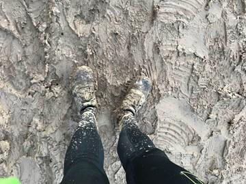 Muddy running @ Viking100