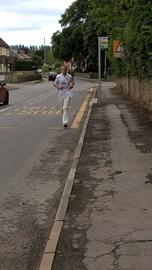Running through Fownhope