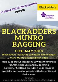 Blackadders Munro Bagging 2018