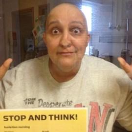 Louise 2013 kicking cancer again