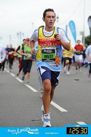 Bupa Great South Run 2012