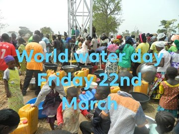 Your donations coincide with World Water Day