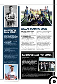 Page 11 of NUFC matchday programme
