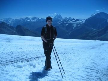 Me on Elbrus, 2010