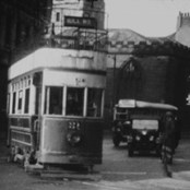 Still taken from 'The Last Days of the York Tram' (1935)