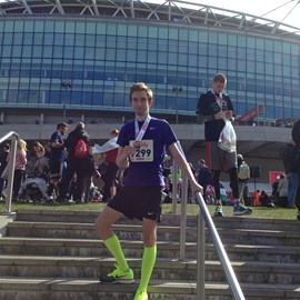 Practice at the Wembley Half