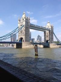 Tower Bridge close up!