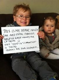 Sibling Fundraising!