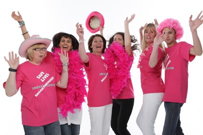 Come along 'Pinked Up' and ready to wave