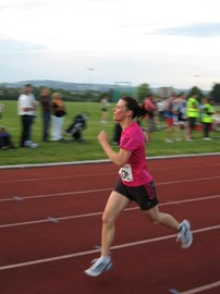 Worthing 10k finish