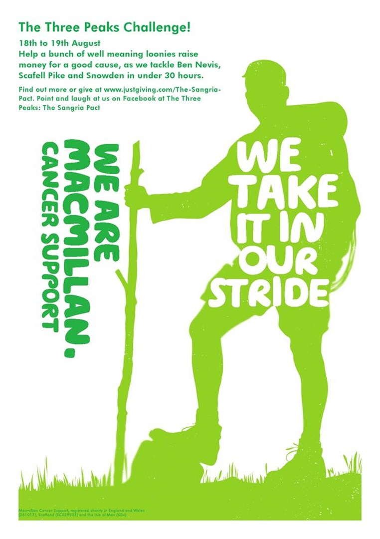 Dean Gatherar is fundraising for Macmillan Cancer Support