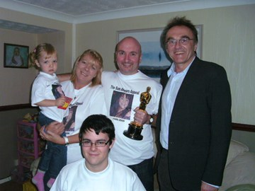 Auction night with Danny Boyle 2010