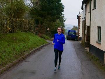 Running in Devon