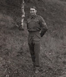 Arthur Evans at Stalag VIIIB