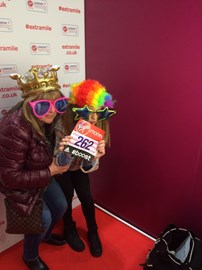 Sidnie Runs London Marathon 2015 For GRACE