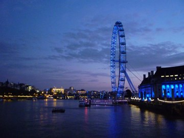 London at dawn - beautiful!!!