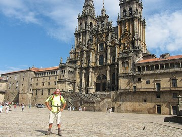 At last, Santiago de Compostela