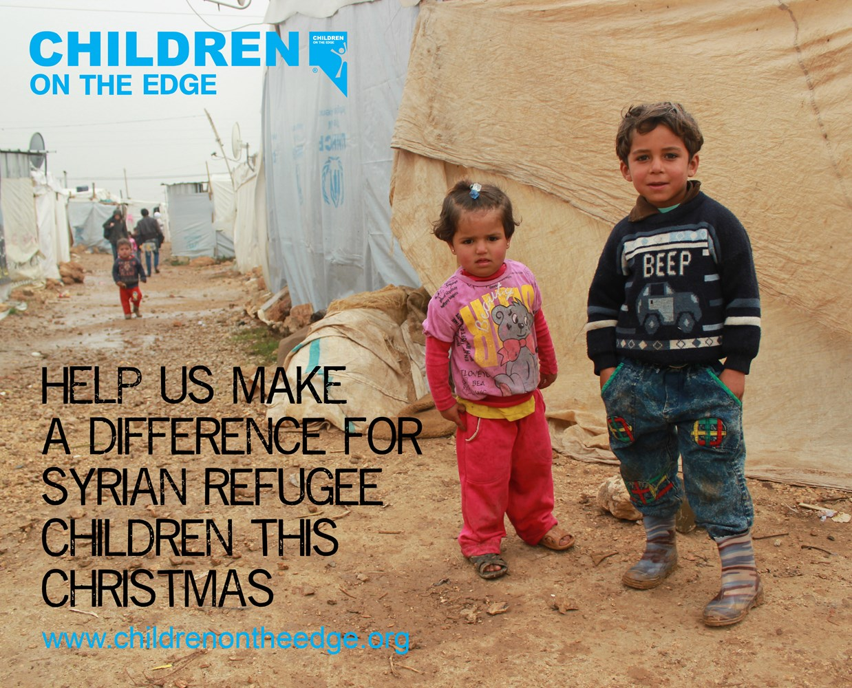 syria refugee appeal - all wrapped up for christmas - justgiving