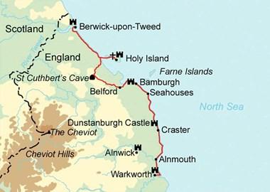 Coastal Path Route