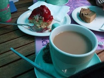Ah, tis a piece of cake and a cup of tea