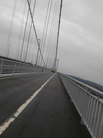 Forth Road Bridge - SMASHED!