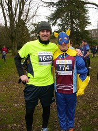 Me n the guvnor at the 10k