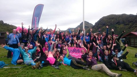 The Iceland, CoppaFeel Family 2016