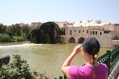 Waterwheels at Hama...