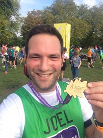 With my Royal Parks Half medal!