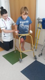 Getting to grips with the walking frame