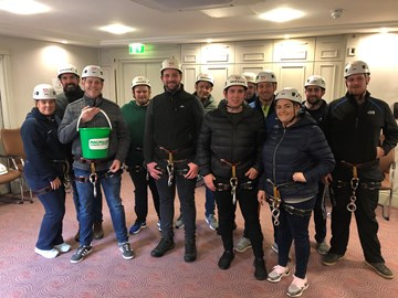 Donnelly Group Foundation - Abseil Team Oct 2019