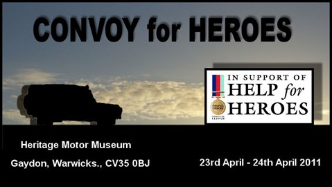 The Convoy for Heroes banner