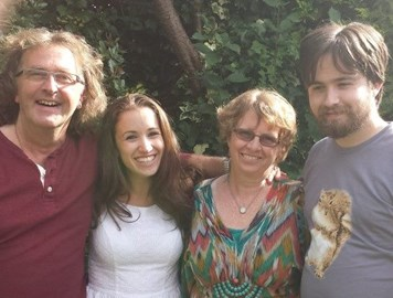 Kate with Craig, Jodi and Jack