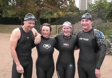 The Serpentine Swimmers!