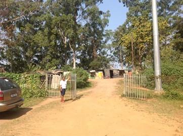 Arriving at Siyaphambili creche