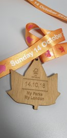 The Royal Park Half Medal
