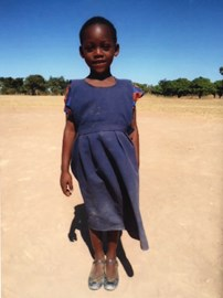 Mavellous, the child we're sponsoring through Action Aid