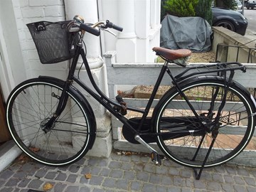 Old bike may not be up to the Bikeathon!