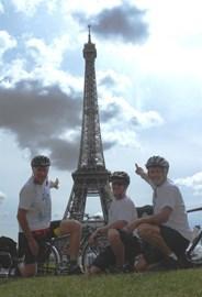 We made it to Paris