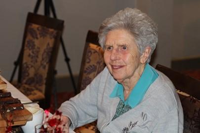 Mum celebrating her 94th birthday