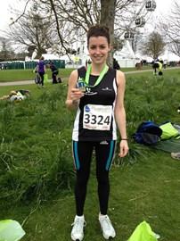 Plymouth Half Marathon 1hr 56