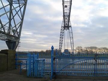 Transporter Bridge (with Percy Penguin)