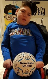 Sean Gallagher aged 10 has Cerebral Palsy and requires Stem Cell treatment in Panama to help soothe his condition