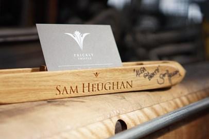 Sam Heughan Signed Shuttle
