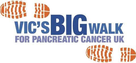 Vic's Big Walk Logo