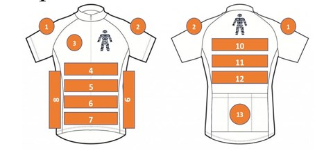 If you would like to sponsor the shirt to get your business more exposure please get in touch.