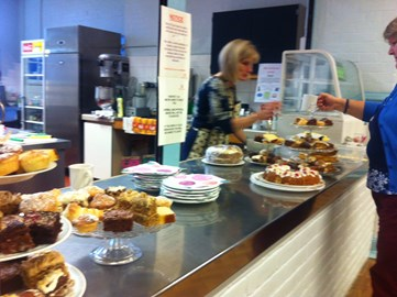 Afternoon tea at the Wilson Marriage centre, which raised over £300
