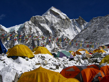 Everest's base camp