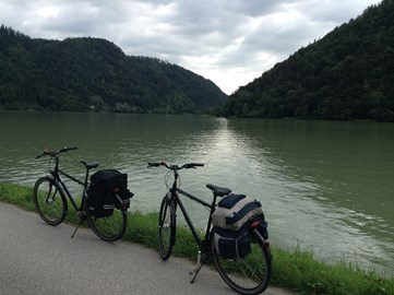 Last big cycle - along the Danube with my brother