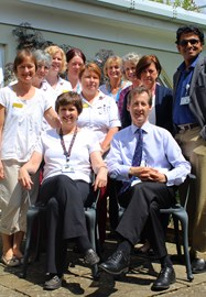 Mr Eammon Coveney and his team on the breast care unit
